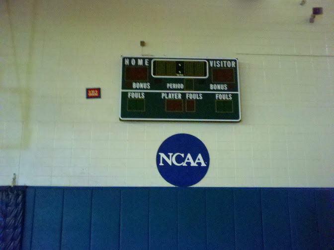 Bluefield State College - Old Scoreboard