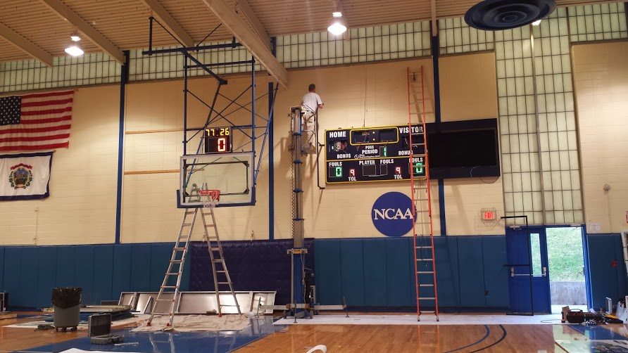 Bluefield State College Scoreboard Installation