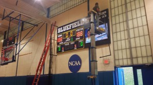 Basketball Scoreboard for Bluefield State College, Bluefield, WV