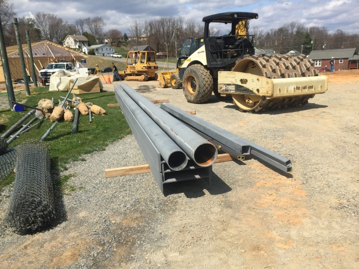 All steel delivered primed and ready to be installed.
