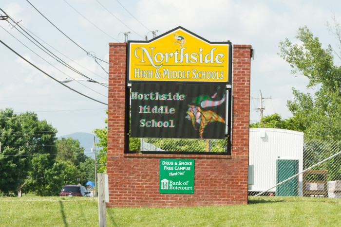 Northside High School Digital Sign
