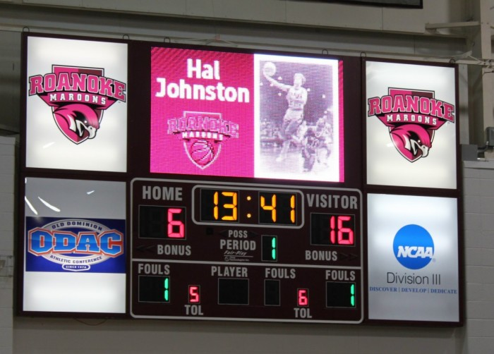 Roanoke College Scoreboard and Video Display